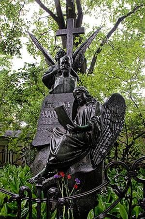 Readers' 10: St Petersburg Alexander Nevsky Cemetery Tchaikovsky grave