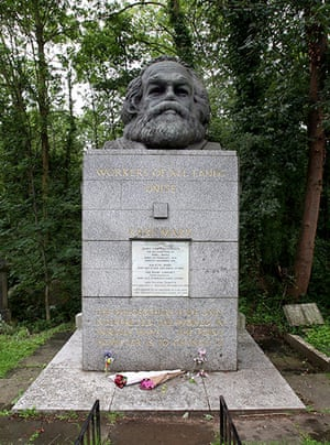 Readers' 10: The tomb of Karl Marx in Highgate Cemetery, London, Britain - 2007