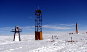 Lake Vostok research camp