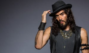 russell brand my life out drugs culture the guardian 26th annual aria awards 2012 award winner portraits