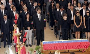 Hugo Chávez's funeral