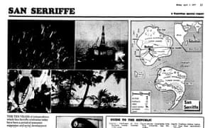 The Guardian's classic 1977 San Serriffe April fool