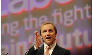 James Purnell addresses the Labour Party conference 2008, while he was work and pensions secretary