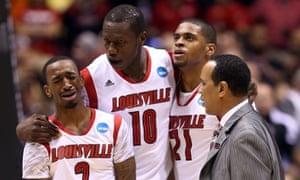 6d4d2090d6 'We won it for Kevin': Louisville top Duke despite Ware's sickening injury