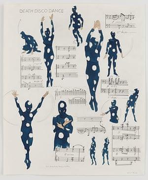 Marcel Dzama: The Death Disco Dance Steps, 2013