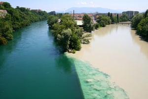 Readers' travel March: Rhône and Arve rivers