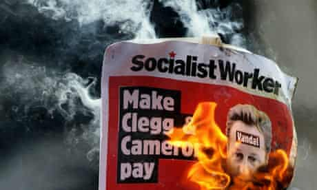 Socialist Worker protest