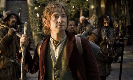 The Hobbit Martin Freeman Tolkien ring exhibition