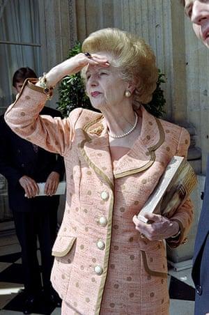 Thatcher fashion: Margaret Thatcher Fashion