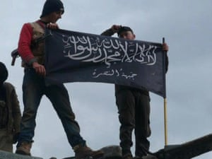 Jabhat al-Nusra fighters in Syria