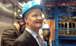 David Willetts at Cern's Atlas experiment