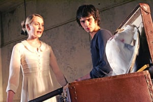 Nicholas Hytner: Hattie Morahan (Nina) and Ben Whishaw (Konstantin) in The Seagull, 2006