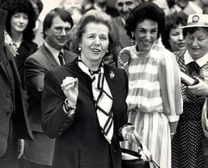 Thatcher fashion: Baroness Thatcher Of Kesteven