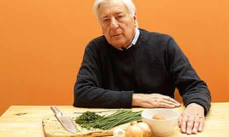 Michael Freedland, cooking at 78