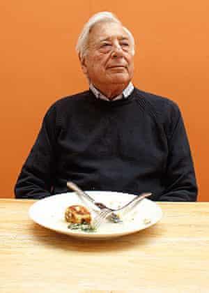 Michael Freedland, empty plate