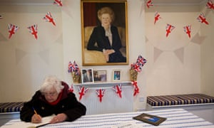 Book of condolence at Finchley Conservatives' HQ