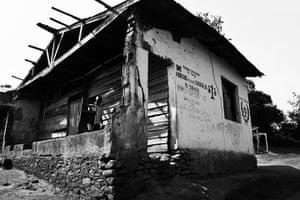 Minova DRC rape: The Military court house in Minova