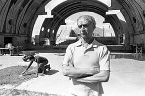 Paolo Soleri: Soleri at Arcosanti, 1985