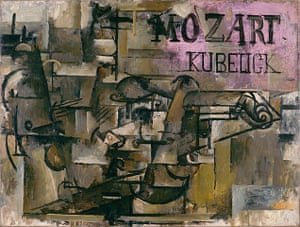 Lauder donation: Georges Braque, The Violin [Mozart/Kubelick, early 1912