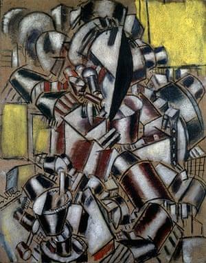 Lauder donation: Fernand Léger, The Smoker, 1914
