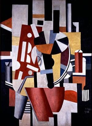 Lauder donation: Fernand Léger, Composition (The Typographer), 1917-18