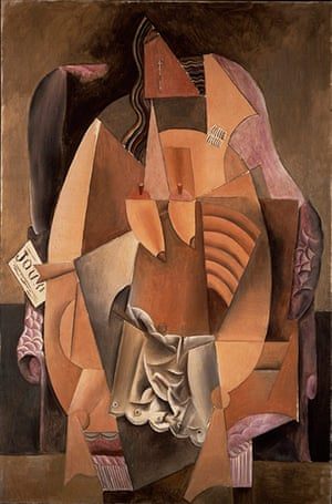 Lauder donation: Pablo Picasso, Eva (Woman in an Armchair)