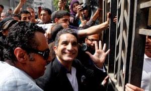 Egypt TV satirist Bassem Youssef