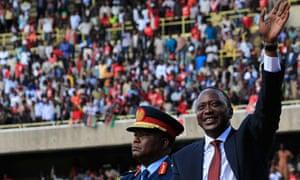 Kenya's President Kenyatta swearing-in ceremony