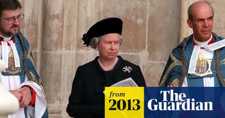 Queen Made Personal Decision To Attend Lady Thatcher S Funeral Politics The Guardian