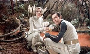 Martin Landau and Barbara Bain in Space: 1999