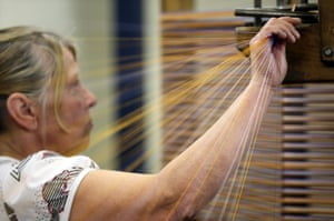 FTA: Christopher Furlong: A weaver creates ribbons in Bedworth