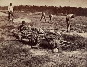 Civil war photography: 108. A Burial Party.jpg