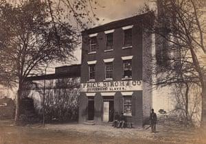 Civil war photography: 82. Slave Pen.jpg