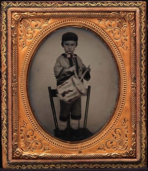 Civil war photography: 36. Young Boy in Zouave Outfit.jpg
