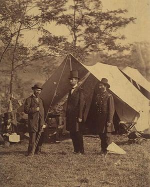 Civil war photography: 14. The President et al..jpg