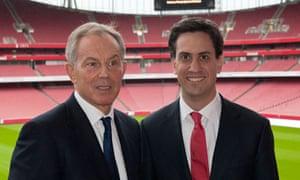 Blair Miliband split future Labour