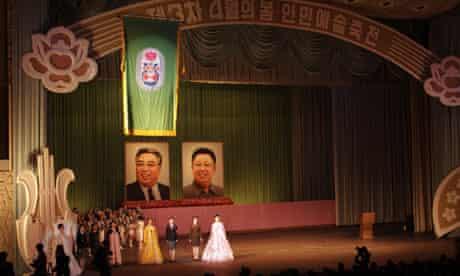 North Korea spring art festival