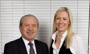 Lord Sugar and Stella English