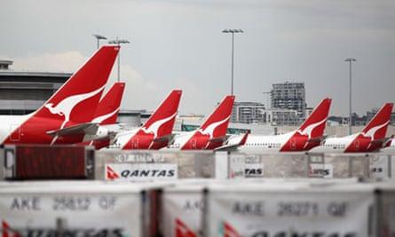 Qantas aircraft