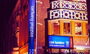 Cine Lumiere and the Institut francia