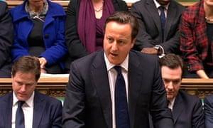David Cameron in praise of Margaret Thatcher