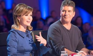 Amanda Holden and Simon Cowell on Britain's Got Talent 2013a