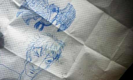 Neil Gaiman drawing