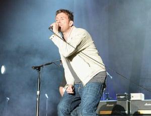 Coachella: Damon Albarn performs with Blur
