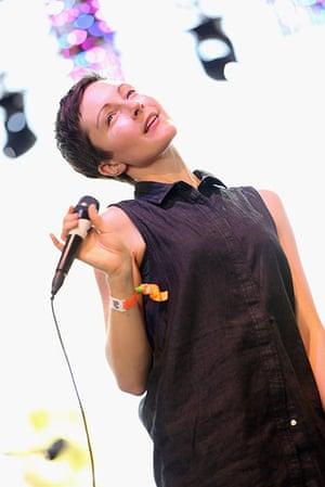 Coachella: Singer Channy Leaneagh of Poliça