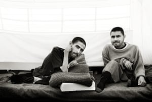 Giles Duley: Syrian refugees Basil, 19 and his brother, Faraj, 22