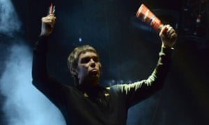 Musician Ian Brown of The Stone Roses performs at Coachella