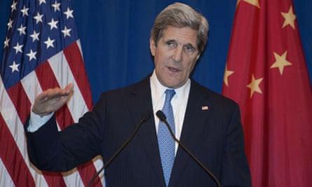 US Secretary of State John Kerry answers