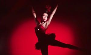 Maria Tallchief performing in Balanchine's Firebird