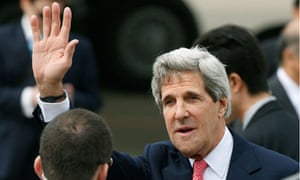 John Kerry in Tokyo
